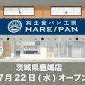 純生食パン工房 HARE/PAN 7月22日オープン